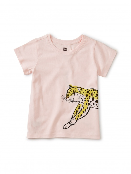 Wild Leopard Front Back Tee