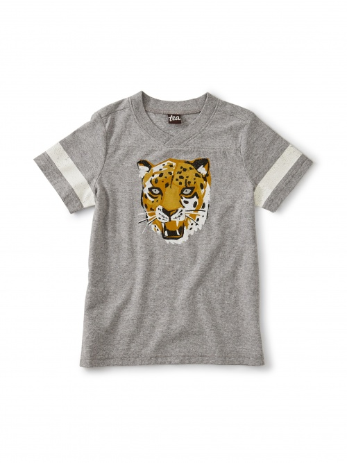 Power Leopard Football Tee