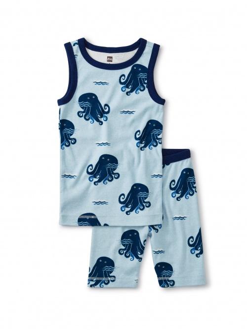 Printed Tank Pajamas