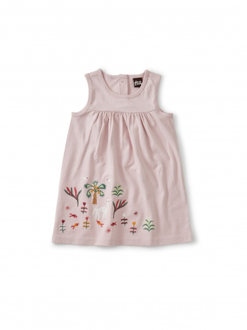 Akhmim Animal Tank Dress
