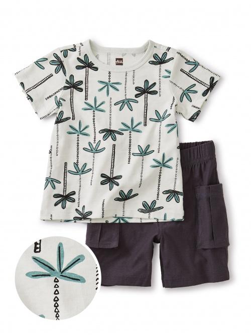Palm Print Baby Set