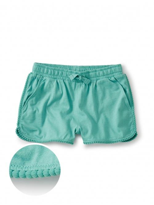 Pom Pom Trim Shorts