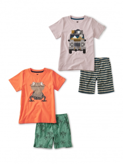 Frogs and Four Wheelers Set