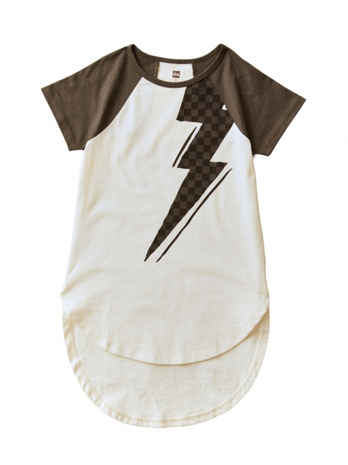 Lightning Bolt Graphic Tunic
