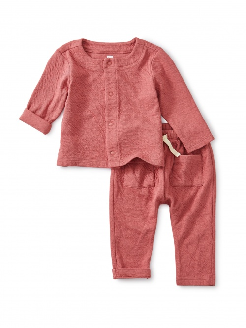 Match Made Rose Crinkle Outfit