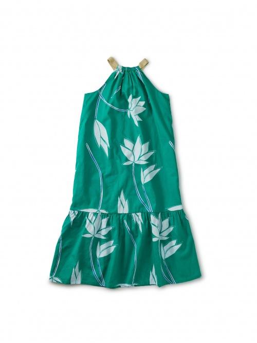 Metallic Strap Midi Dress