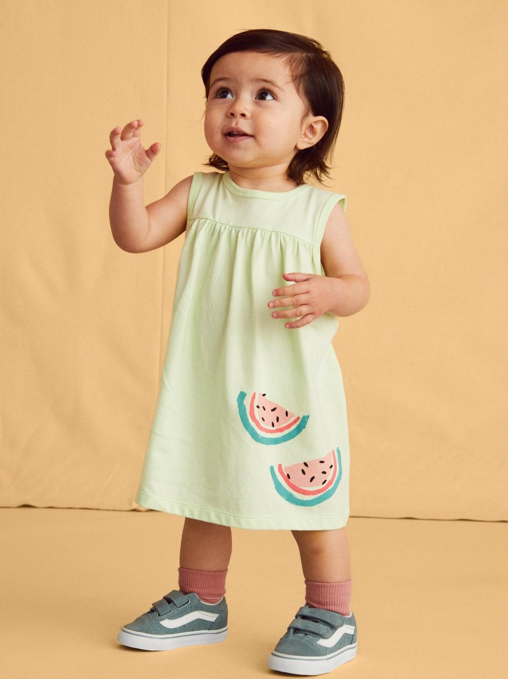 Sweet Melon Tank Dress