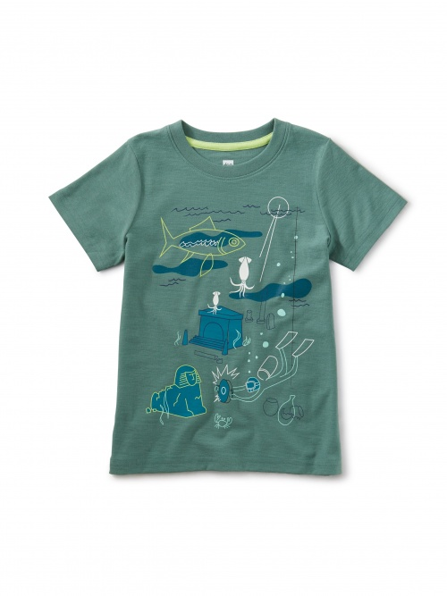 Glow Sunken Treasures Graphic Tee