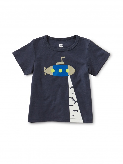Glow In The Dark Submarine Baby Tee