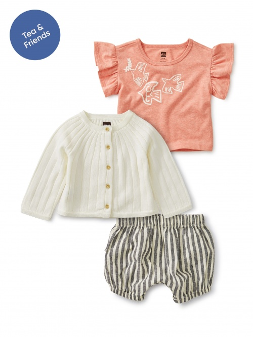 Baby Chic Set by Tiny Girl Gang
