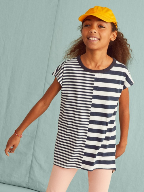 Stripe Mix Tunic
