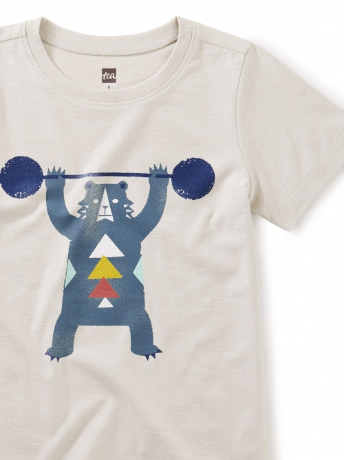 Beary Strong Weightlifting Tee