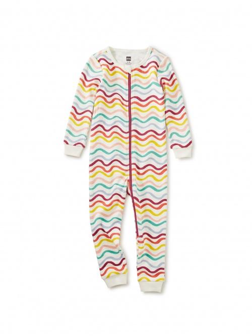 Printed Long Sleeve Baby Pajamas