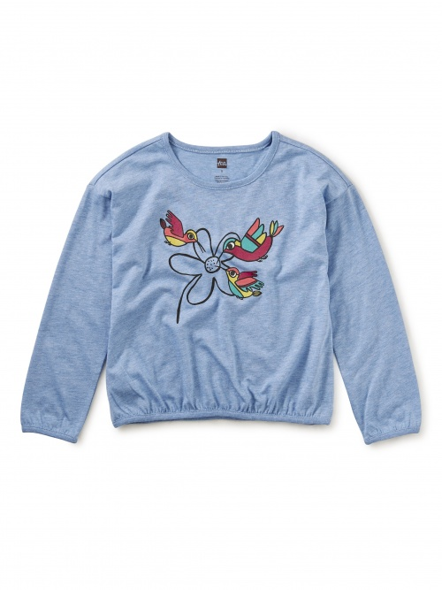 Andean Hummingbird Graphic Top