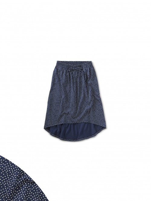 Dot Hi-Lo Skirt