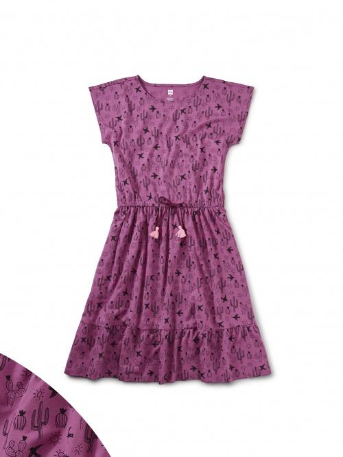Tie Waist Midi Dress
