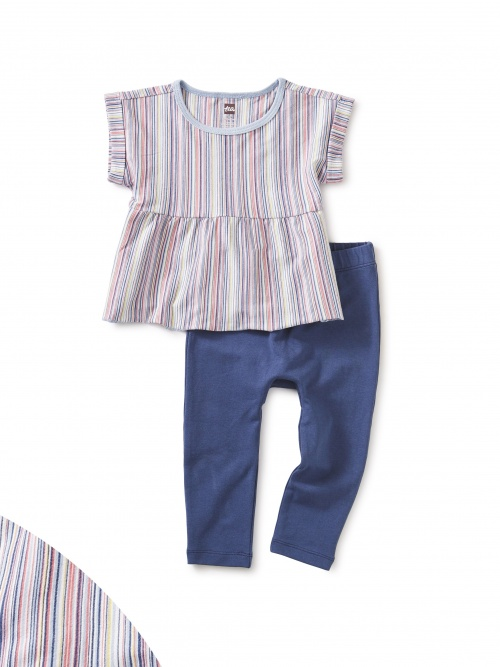 Multi Stripe Baby Set