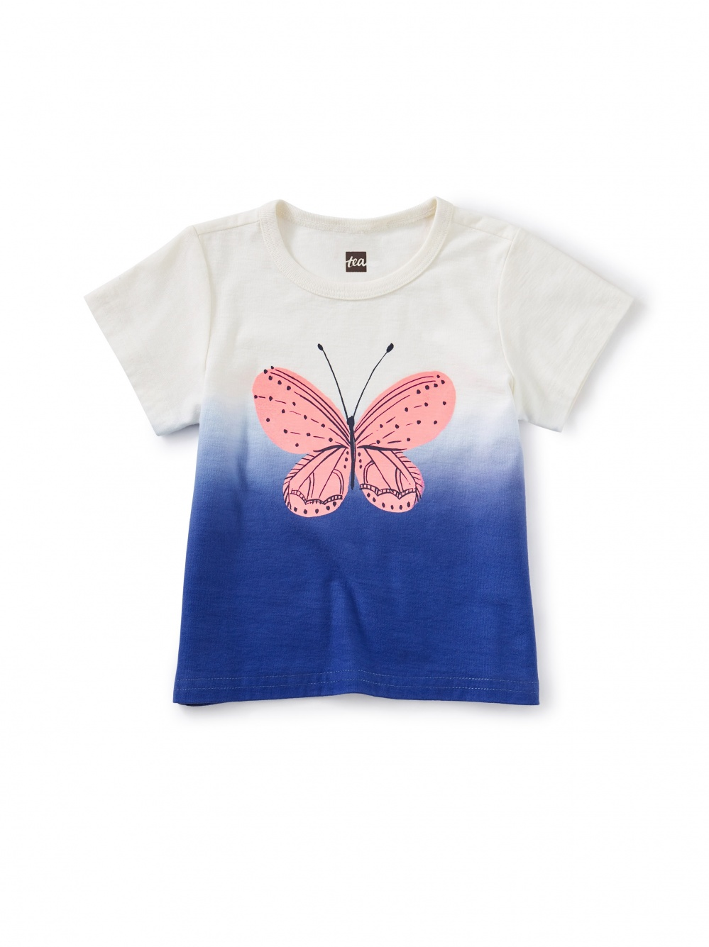 Butterfly Dip-Dye Graphic Tee