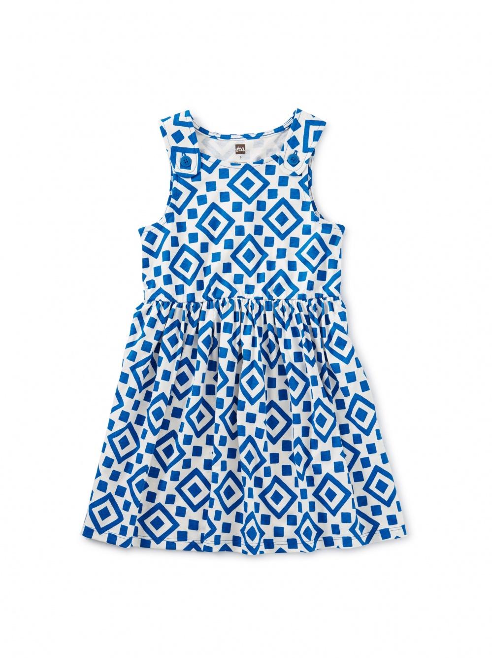Button Shoulder Dress