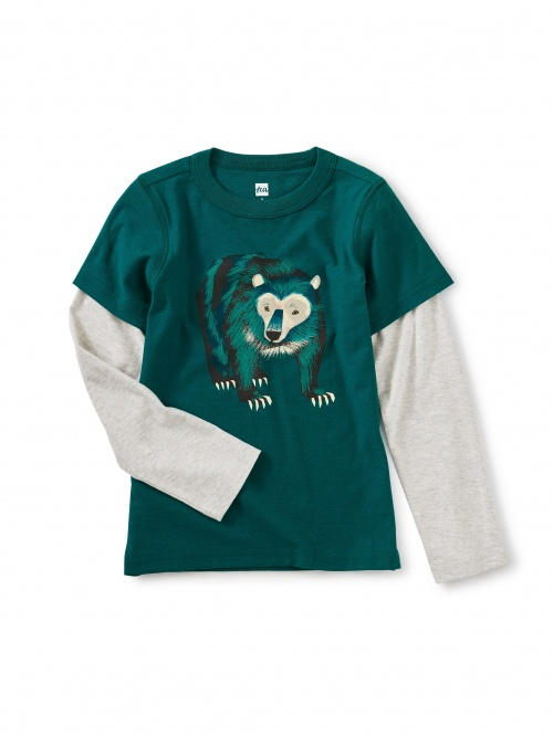 Big Bear Layered Graphic Tee