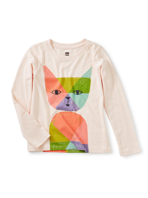 Rainbow Cat Graphic Tee