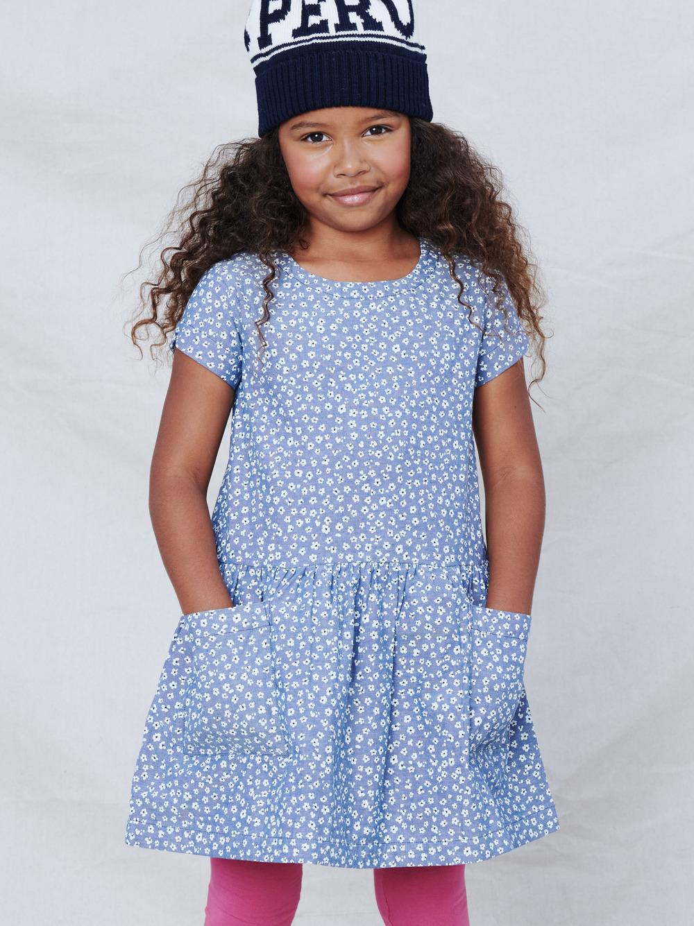 Woven Pocket Dress