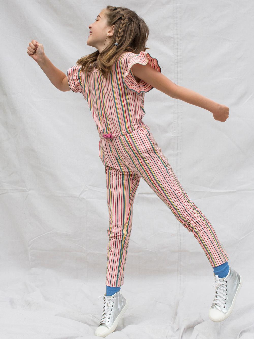 Scoop Back Ruffle Jumpsuit
