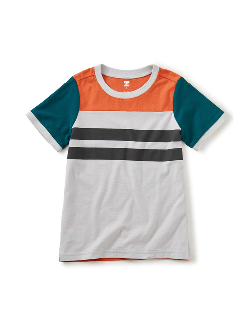 Sporty Colorblock Tee