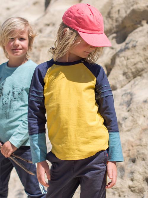 Explorer Colorblock Raglan Top