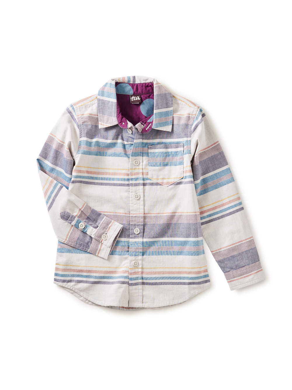 Double Weave Button Up