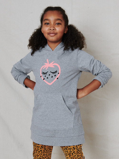 Berry Hooded Tunic