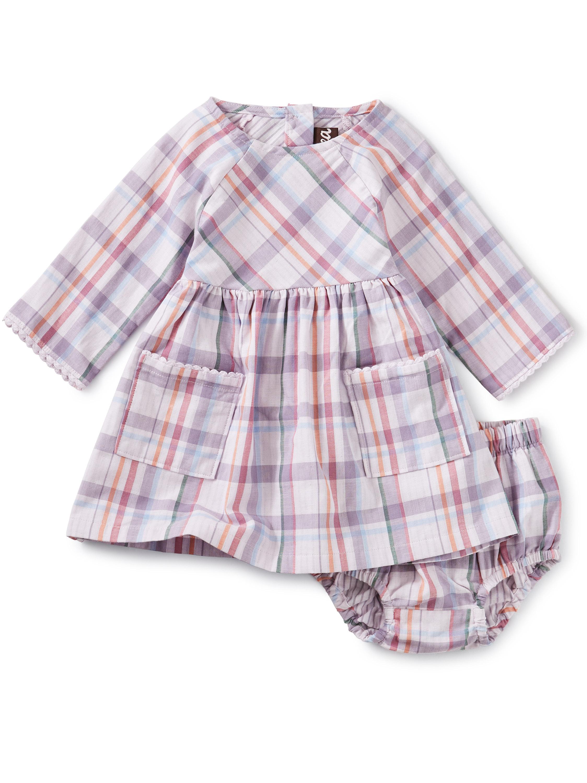 Crochet Trim Baby Dress
