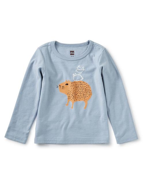 Whoa Capybara Graphic Tee