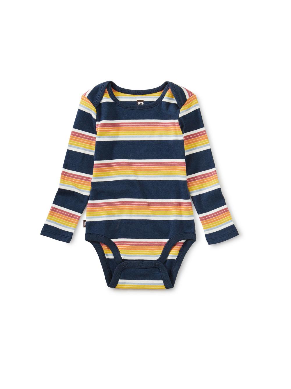 Striped Baby Bodysuit