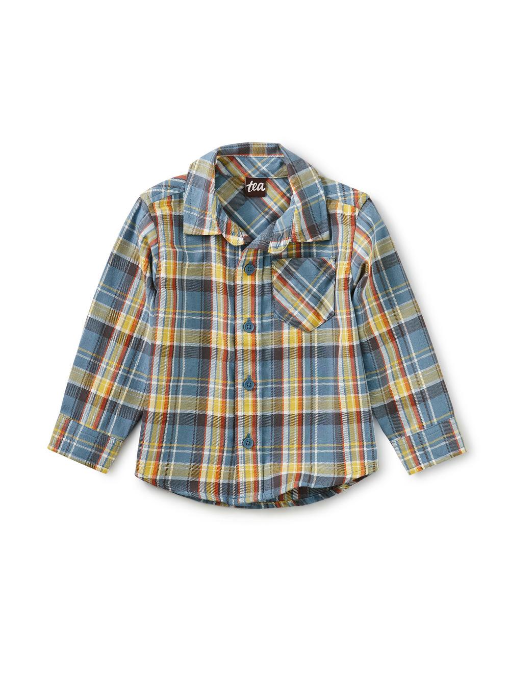Plaid Baby Shirt