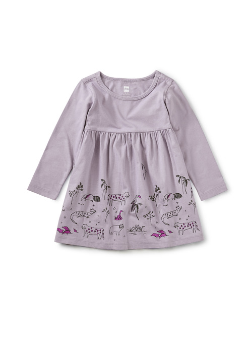 Amazonian Animals Baby Dress