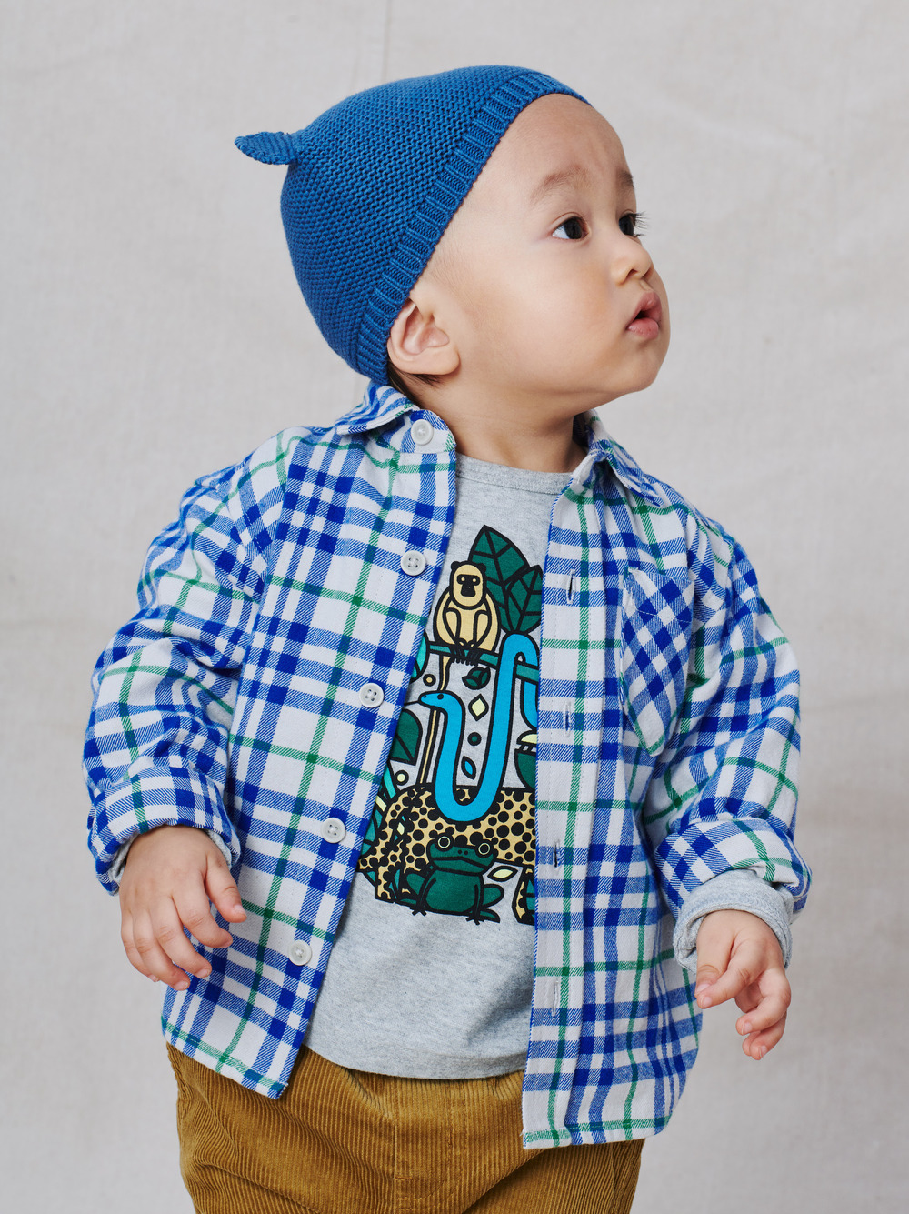 Flannel Baby Shirt