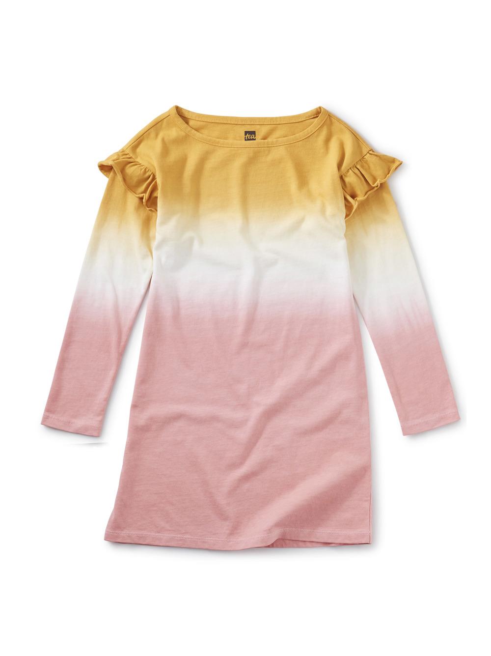 Dip Dye Ruffle Dress