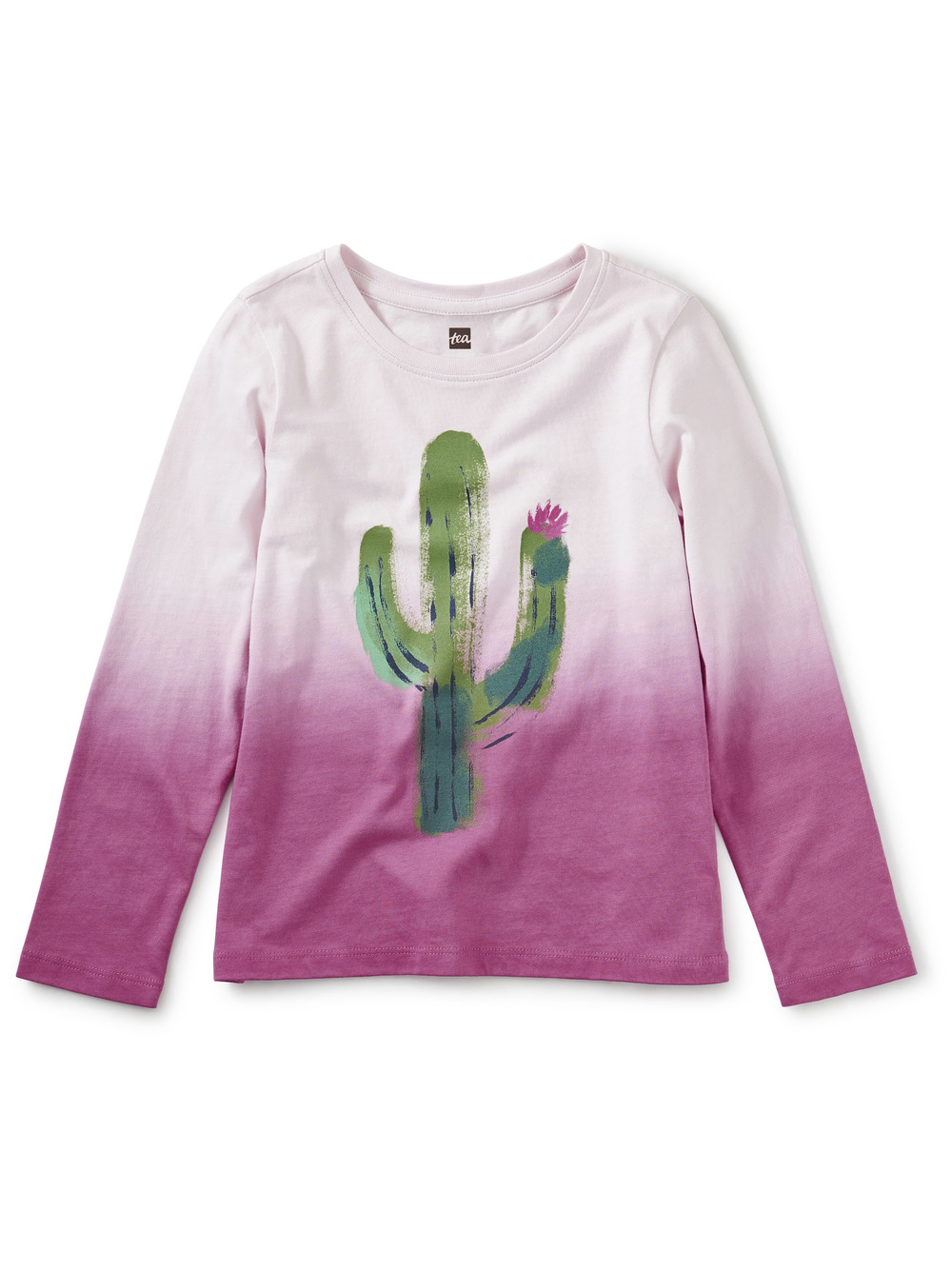 Prickly Dip-Dye Graphic Tee
