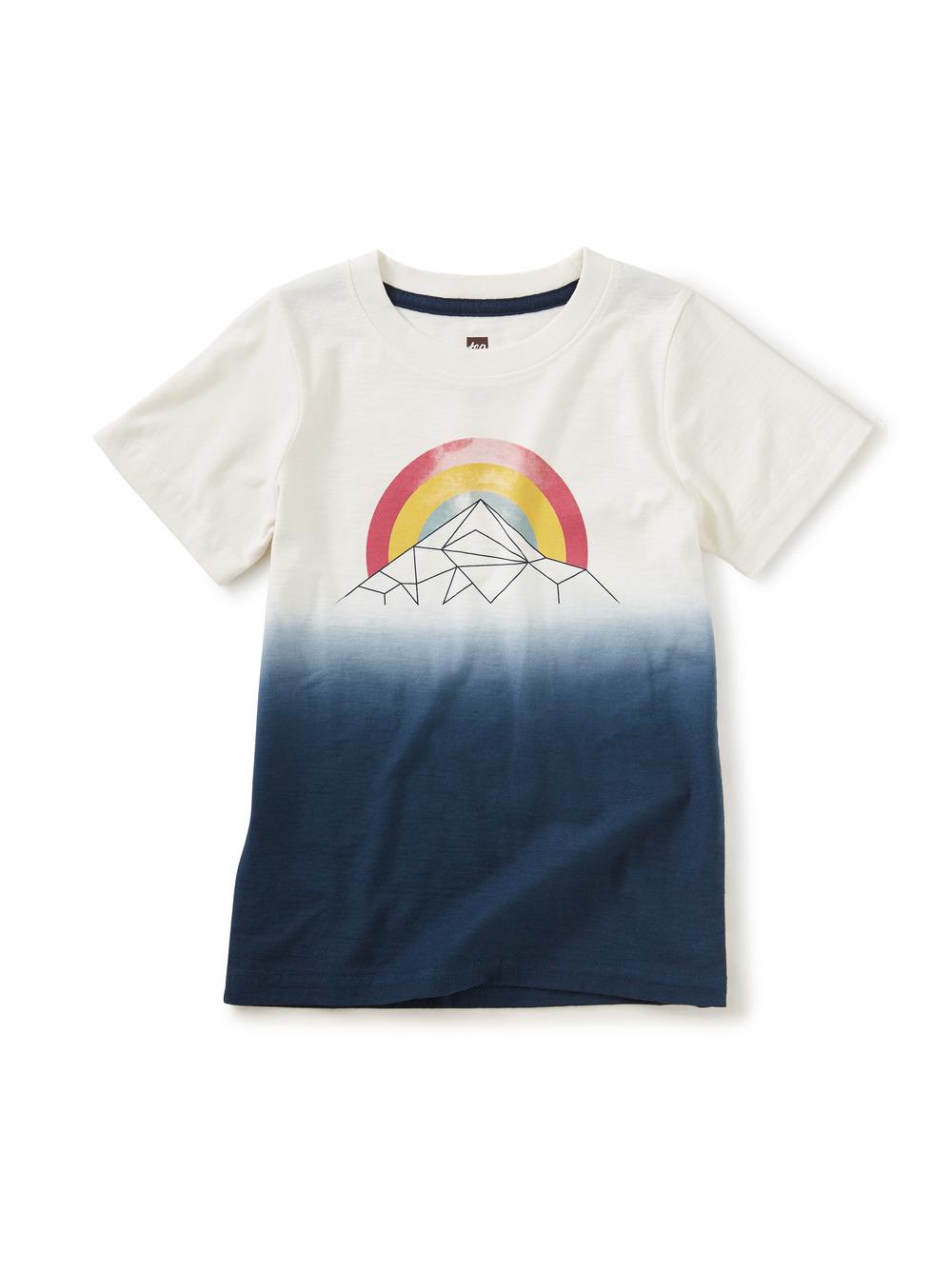 Mountain Rainbow Dip-Dye Graph