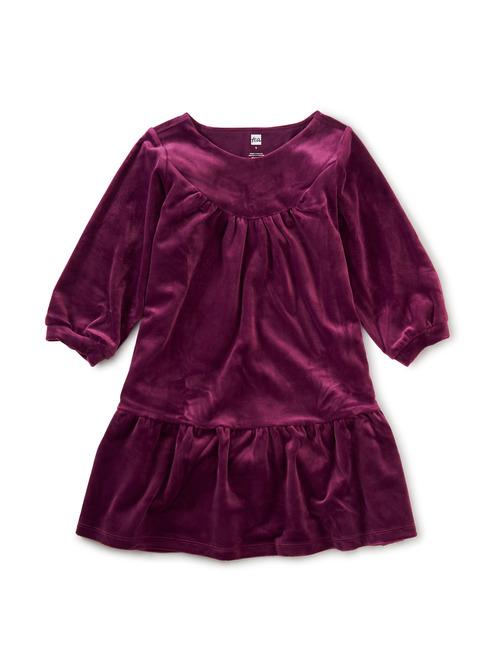 Velour Dress