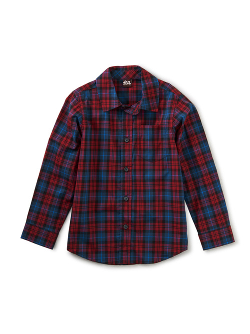 Family Plaid Button Up Shirt