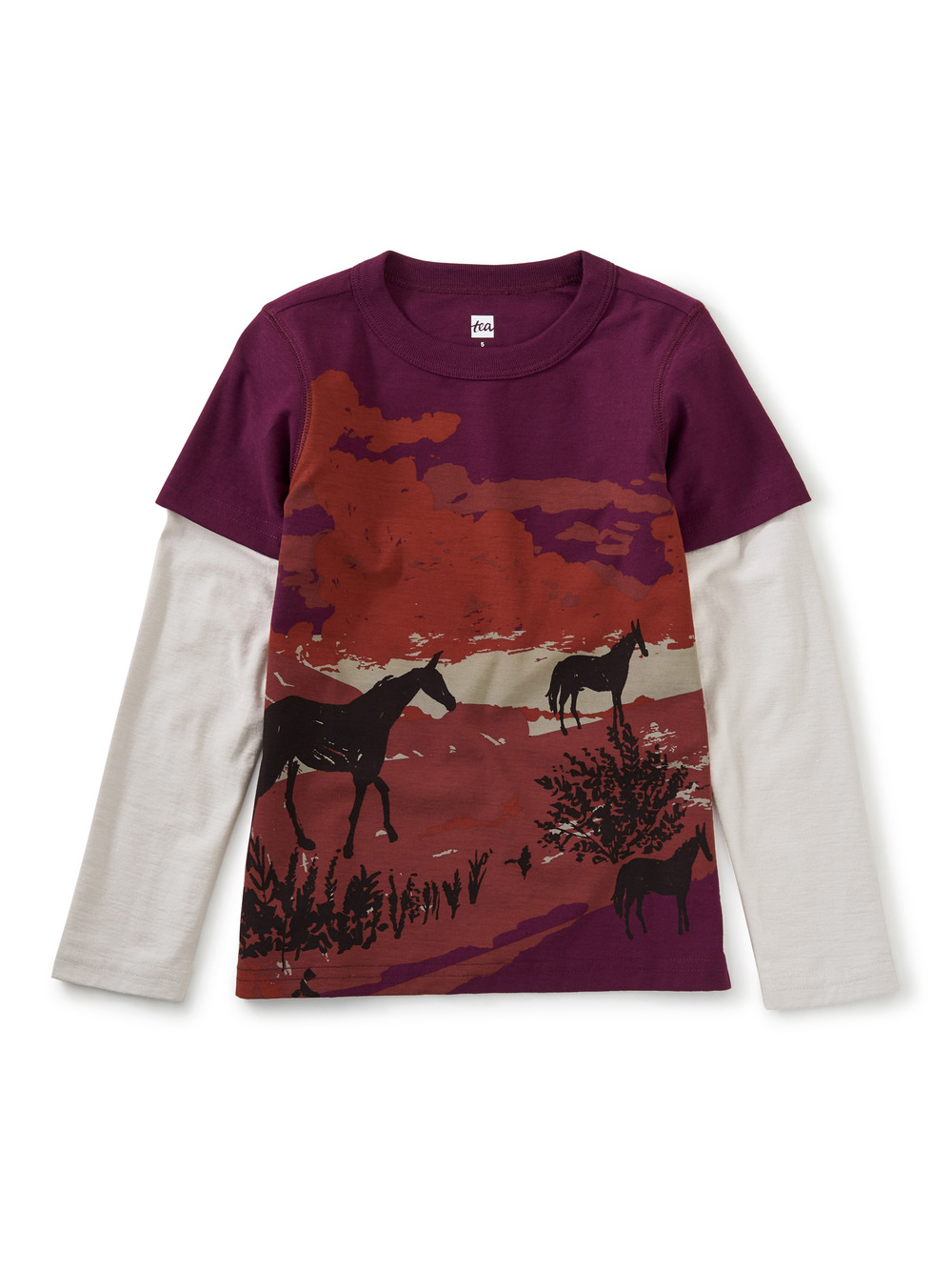 Estancia Layered Graphic Tee