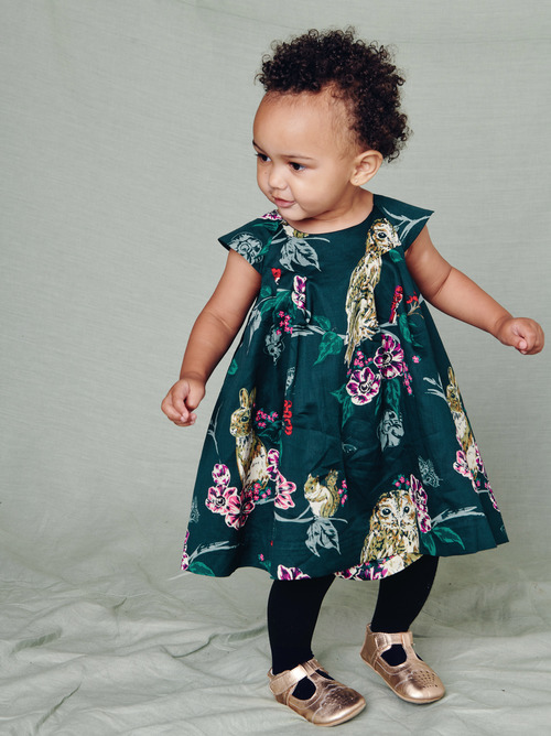 Caledonian Forest Baby Dress