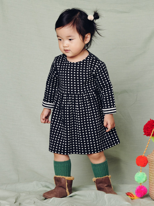 Khumbu Double Knit Baby Dress