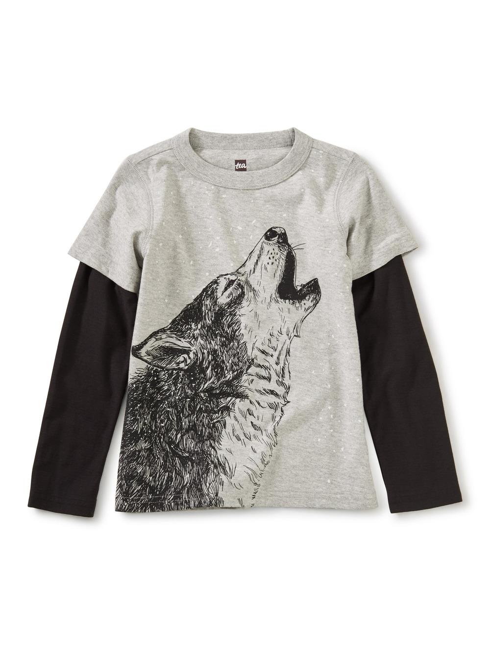 Husky Howl Layered Tee