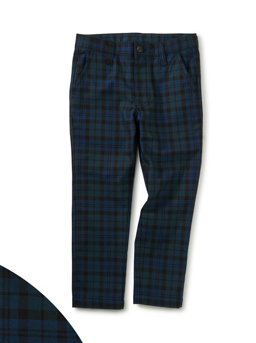 Plaid Slim Chino