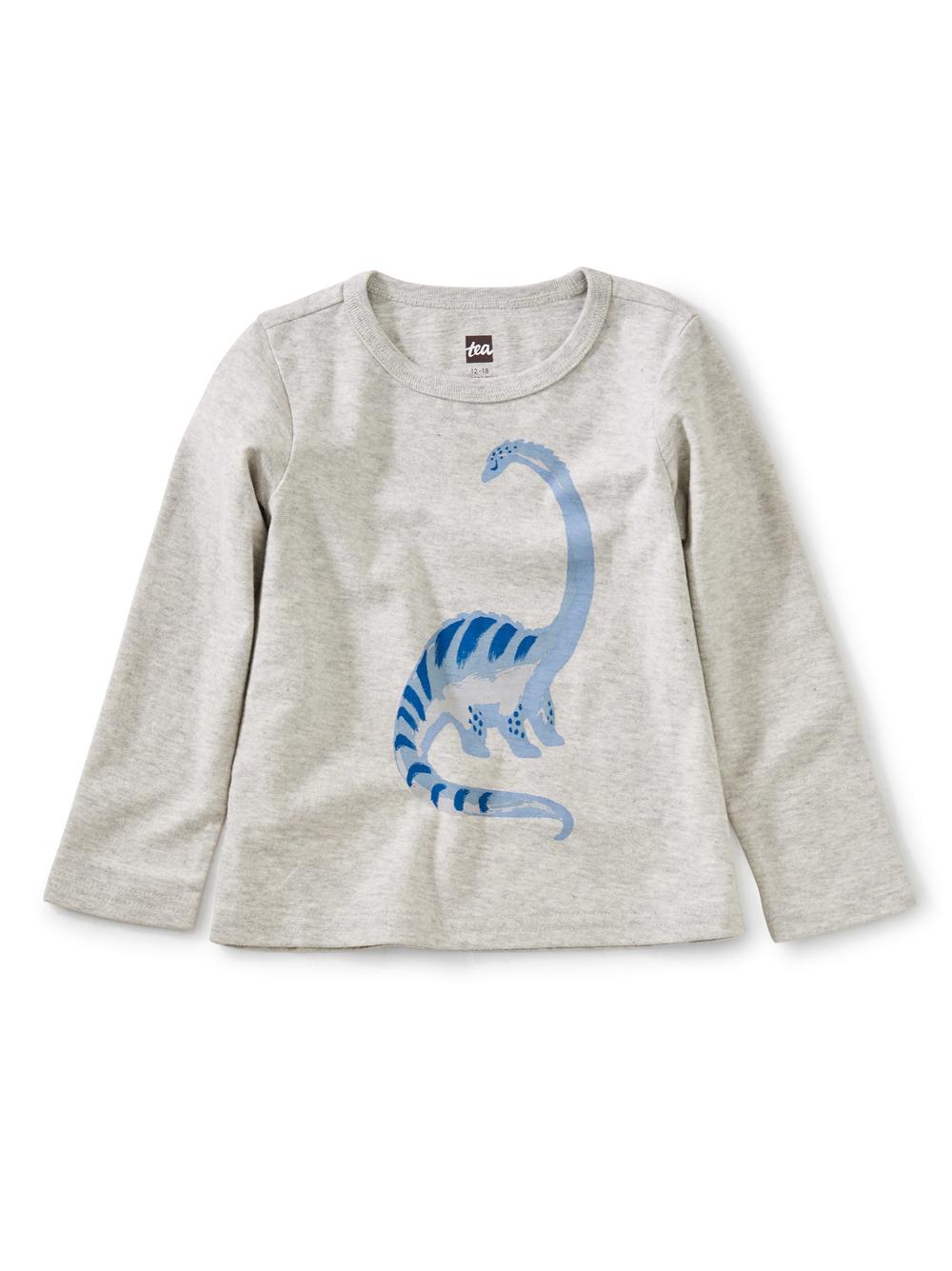 Longneck Dino Graphic Baby Tee