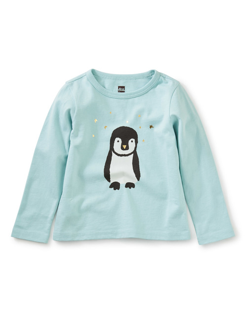 Penguin Metallic Graphic Tee