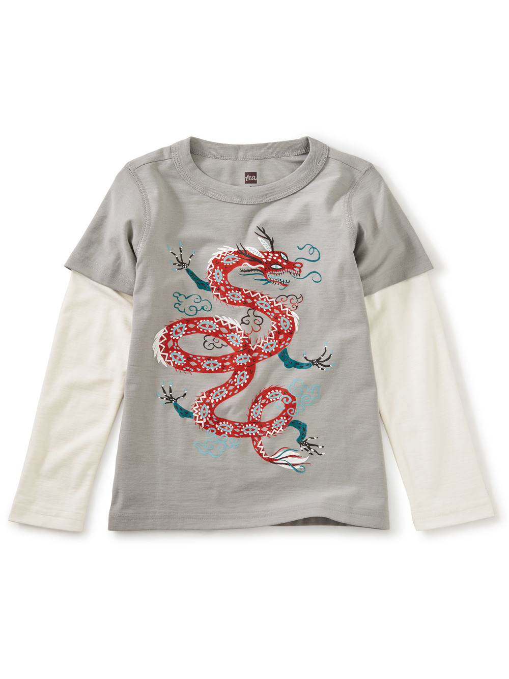 Here Be Dragons Layered Graphic Tee